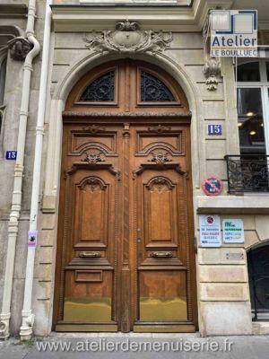 PORTE COCHERE 15 RUE JACQUES BINGEN PARIS 17