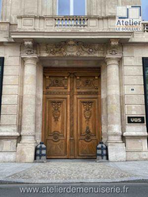 PORTE COCHERE 21 AVENUE KLEBER PARIS 16