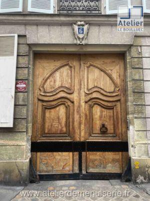 PORTE COCHERE 6 RUE DU FOIN PARIS 3