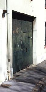 Porte-cochere-Bruit-atelier-0 Avant Dépose