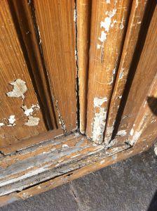Porte 276 Charenton Vantail D 0 Avant Réparations