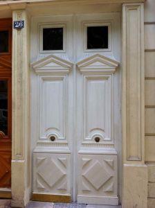 Porte Alesia 4 Avant Peinture
