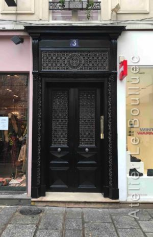 Porte Batarde - 3 RUE DES FEUILLANTINES PARIS 5