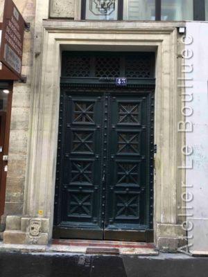Porte Batarde - 43 RUE VIVIENNE PARIS