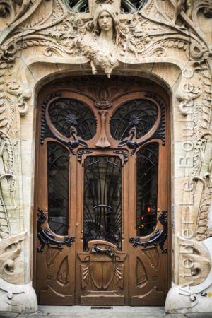 Porte Batarde Art Nouveau - 29 AV Rapp - Paris 7