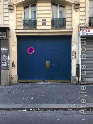 Porte Charetière - 71 RUE RIQUET FACE EXT  PARIS 18