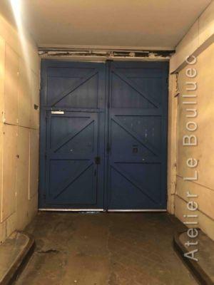 Porte Charettierre 10 Rue Bichat Paris 10