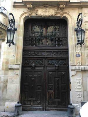 Porte Cochère - 12 RUE DU CARDINAL MERCIER PARIS 9