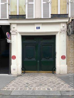Porte Cochère - 13 RUE DE TOURNON PARIS 6