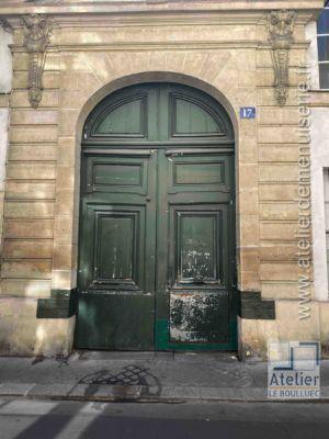 Porte Cochère - 17 RUE SEGUIER PARIS 6