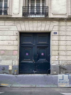 Porte Cochère - 18 RUE DE CONDE PARIS 6