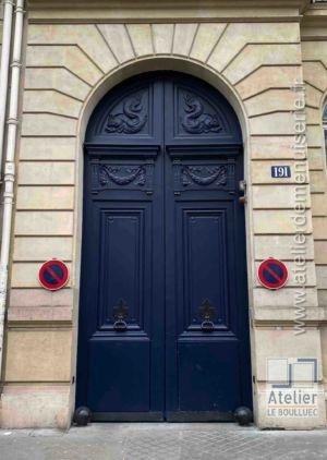 Porte Cochère - 191 BD ST GERMAIN PARIS 7