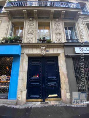 Porte Cochère - 54 RUE TRUFFAUT PARIS 17