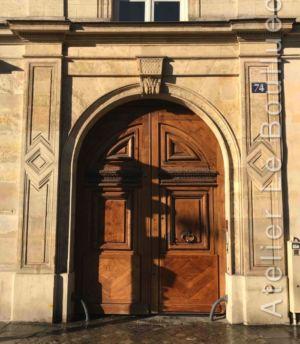 Porte Cochère  - 74 Rue Bonaparte Paris 6