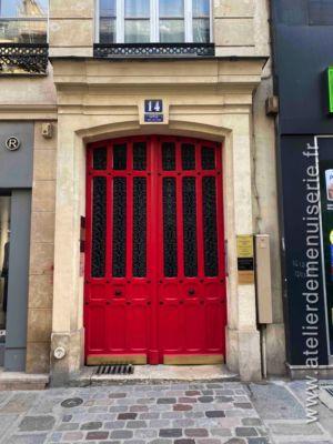 Porte Cochère 14 RUE DU PONT NEUF PARIS 1ER