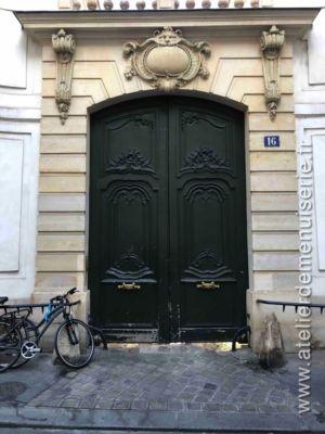 Porte Cochère 16 RUE SEGUIER PARIS 6