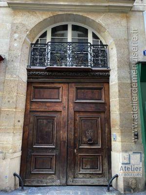 Porte Cochère 1 RUE DE VILLEDO PARIS 1