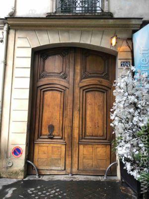 Porte Cochère 202 Bd Saint Germain