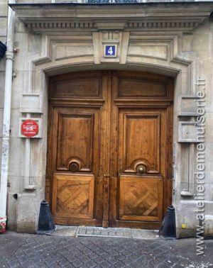 Porte Cochère 4 RUE SCIPION PARIS 5