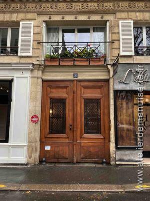 Porte Cochère 8 RUE DE LOUVOIS - PARIS 2