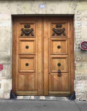 Porte Cochère Empire - 14 RUE JEAN GOUJON