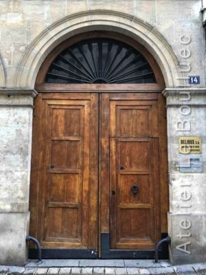 Porte Cochère Empire - 14 RUE VIGNON PARIS 9