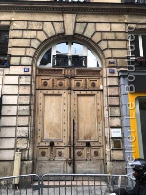 Porte Cochère Empire - 15 RUE DE CLERY PARIS 2