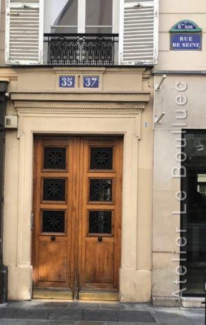 Porte Cochère Empire - 37 RUE DE SEINE