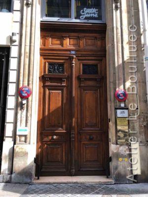 Porte Cochère Empire - 52 RUE ETIENNE MARCEL PARIS 2