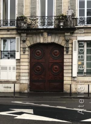 Porte Cochère Empire - 58 Rue De Vaugirard - Paris 6
