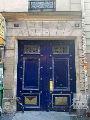 Porte Cochère Empire - 6 RUE DES PETITES ECURIES PARIS 10