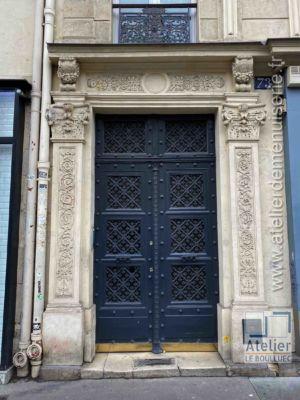 Porte Cochère Empire - 73 RUE AMELOT PARIS 11