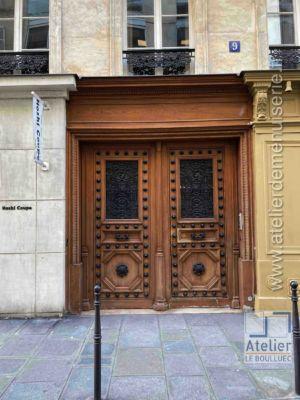 Porte Cochère Empire - 9 RUE DE VILLEDO PARIS 1