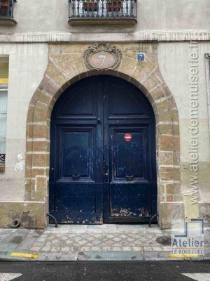 Porte Cochère LOUIS XIII - 7 RUE DES LIONS SAINT PAUL PARIS 4