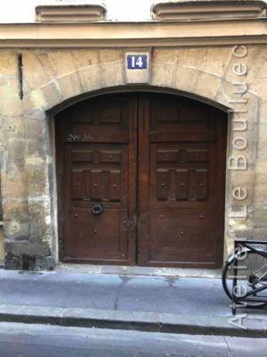 Porte Cochère Louis XIII - 14 RUE MAITRE ALBERT PARIS 5
