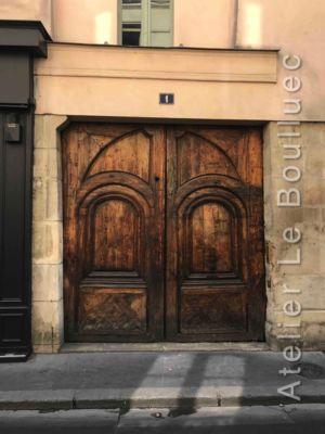 Porte Cochère Louis XIII - 1 RUE MAITRE ALBERT PARIS 5