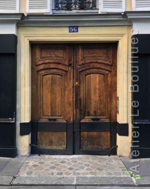 Porte Cochère Louis XIII - 56 RUE DES TOURNELLES PARIS 3