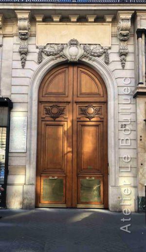 Porte Cochère Louis XV - 22 AVENUE DE L\'OPERA PARIS 1