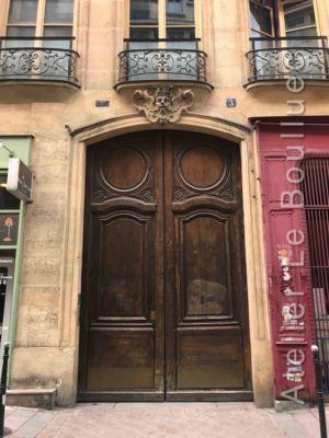 Porte Cochère Louis XV - 3 RUE DES PROUVAIRES RED