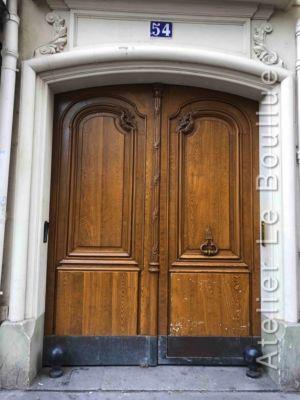 Porte Cochère Louis XV - 54 RUE GODEFROY CAVAGNAC PARIS 11
