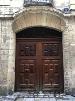 Porte Cochère Louis Xiii - 14 RUE SAINT SAUVEUR PARIS 2