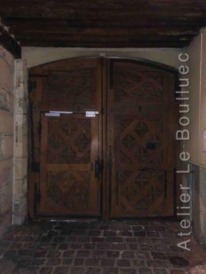 Porte Cochère Louis Xiii - 20 RUE SAINT SAUVEUR INERIEUR PARIS 2