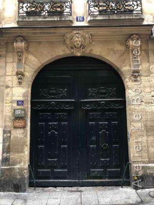 Porte Cochère Louis Xiii - 316 RUE SAINT SAUVEUR PARIS 2