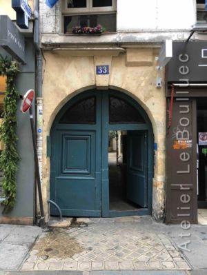 Porte Cochère Louis Xiii - 33 RUE DES PETITS CHAMPS PARIS 2EME
