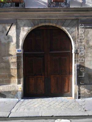 Porte Cochère Louis Xiii - 9 Rue Charles V - Paris 4