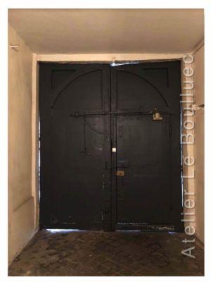Porte Cochère Louis Xiii - 9 Rue Pastourelle Paris 3 Vue Int