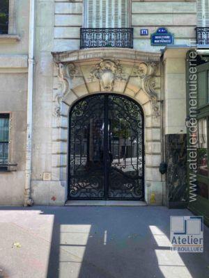 Porte Cochère Acier - 171 BD DU MONTPARNASSE PARIS 6