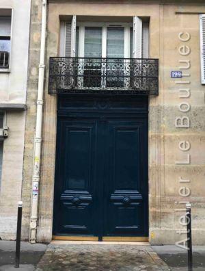 Porte Cochère Avec Imposte  Paris 17