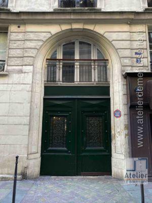 Porte Cochère à Baie D\'entresol - 3 RUE DE VILLEDO PARIS 1
