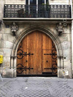 Porte Cochère Ogivale - 26 RUE GAY LUSSAC PARIS 6